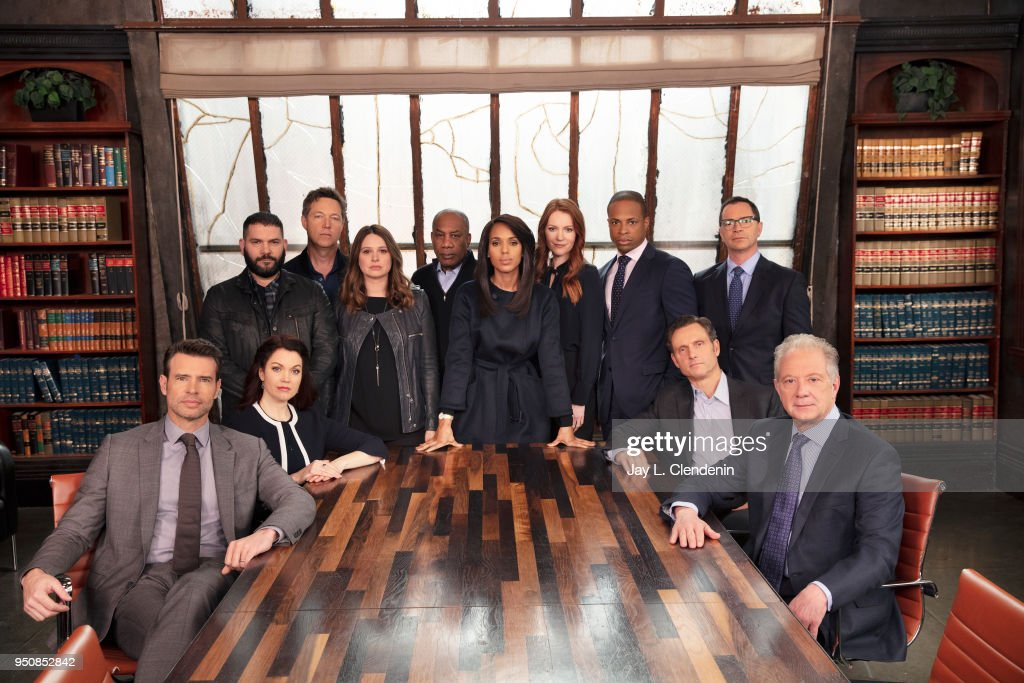 Cast of Scandal, Los Angeles Times, April 15, 2017