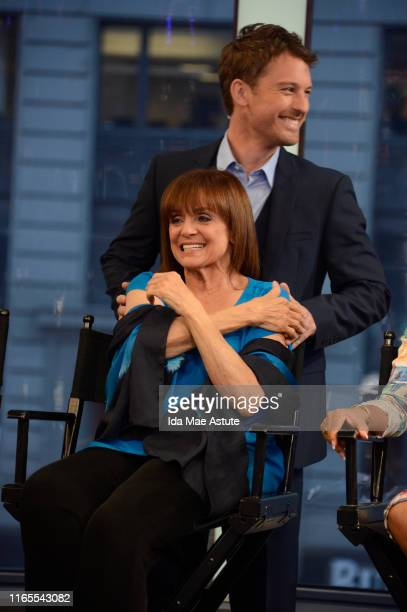 The cast of Season 17 of Dancing With The Stars is announced live on Good Morning America 9/4/13 airing on the ABC Television Network VALERIE HARPER...