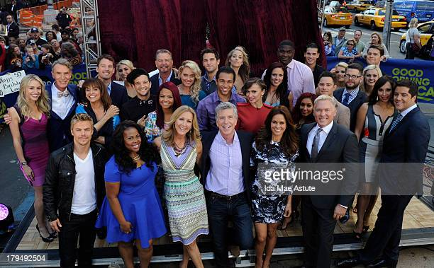 AMERICA The cast of Season 17 of Dancing With The Stars is announced live on Good Morning America 9/4/13 airing on the Walt Disney Television via...