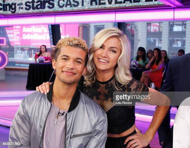 AMERICA The cast of Season 25 of Dancing with the Stars are announced live on Good Morning America Wednesday September 6 2017 on the ABC Television...