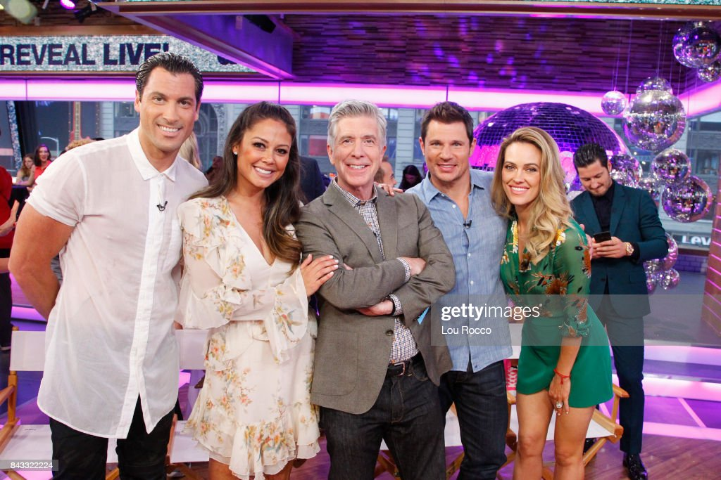 AMERICA - The cast of Season 25 of 'Dancing with the Stars,' are announced live on 'Good Morning America,' Wednesday, September 6, 2017 on the ABC Television Network. MAKS