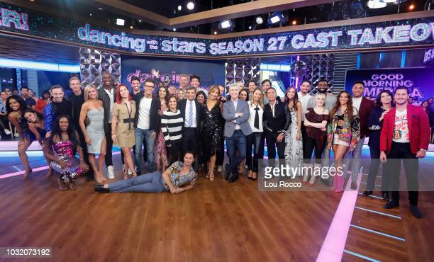 AMERICA The cast of Season 27 of 'Dancing With the Stars' is revealed live on 'Good Morning America' Wednesday September 12 2018 on ABC DANCING