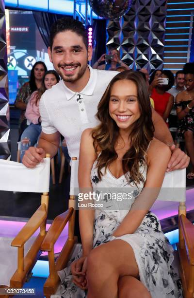 AMERICA The cast of Season 27 of Dancing With the Stars is revealed live on Good Morning America Wednesday September 12 2018 on Walt Disney...