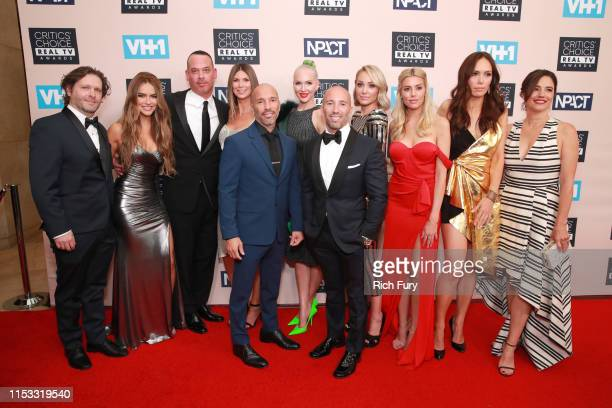 The cast of 'Selling Sunset' attend the Critics' Choice Real TV Awards at The Beverly Hilton Hotel on June 02 2019 in Beverly Hills California