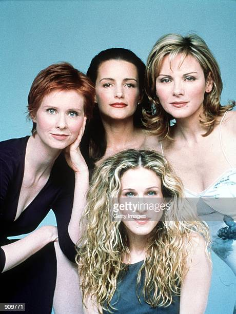 The cast of Sex And The City Season 2 Clockwise from top left Cynthia Nixon Kristin Davis Kim Cattrall and Sarah Jessica Parker 1999 Paramount...