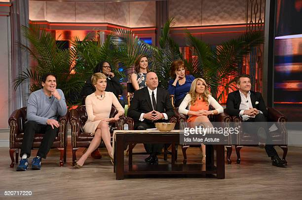 THE VIEW The cast of Shark Tank appears on THE VIEW airing Tuesday 4/12/16 on the Walt Disney Television via Getty Images Television Network LEARY...