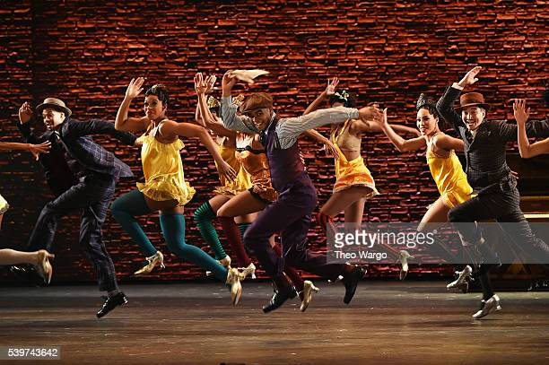 The cast of 'Shuffle Along' performs onstage during the 70th Annual Tony Awards at The Beacon Theatre on June 12 2016 in New York City