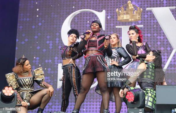 The cast of Six the Musical perform live on stage at the West End LIVE The weekend where the cast of Londons West End theatre's top musicals perform...