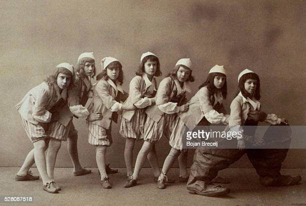 The cast of Sleeping Beauty by Tchaikovsky