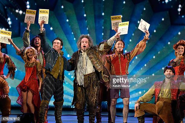 The Cast of Something Rotten perform onstage at the 2015 Tony Awards at Radio City Music Hall on June 7 2015 in New York City