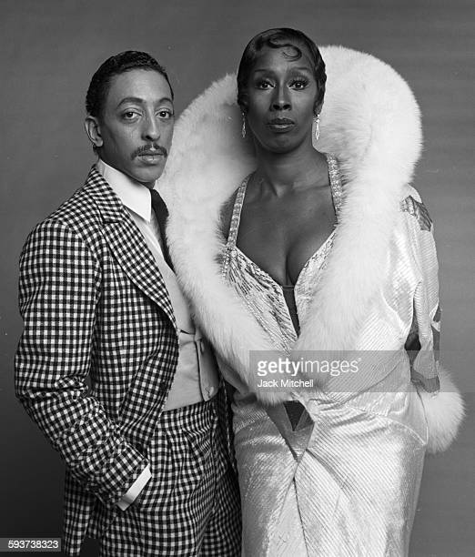 """The cast of """"Sophisticated Ladies"""" on Broadway, starring Judith Jamison and Gregory Hines, photographed in December 1980."""