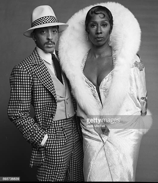 The cast of Sophisticated Ladies on Broadway starring Judith Jamison and Gregory Hines photographed in December 1980