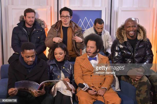The cast of 'Sorry to Bother You' attends the Acura Studio at Sundance Film Festival 2018 on January 21 2018 in Park City Utah