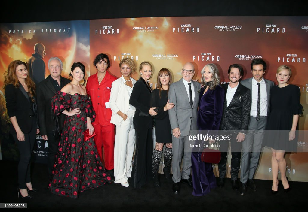 "Premiere Of CBS All Access' ""Star Trek: Picard"" - Arrivals : News Photo"