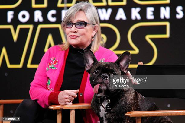 AMERICA The cast of Star Wars The Force Awakens are guests on Good Morning America 12/3/15 airing on the ABC Television Network