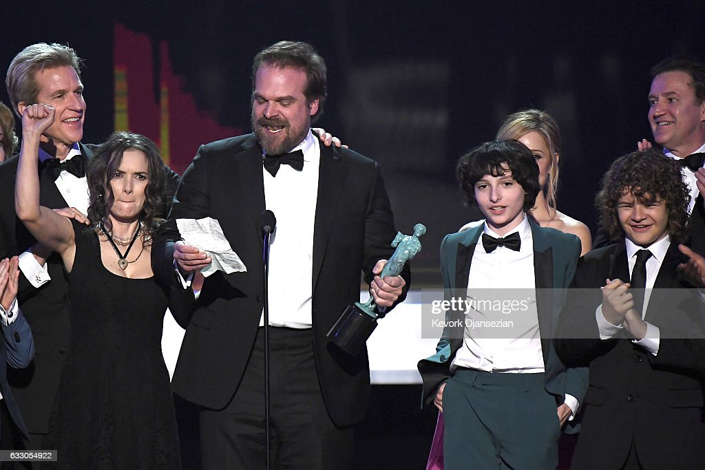 23rd Annual Screen Actors Guild Awards - Show : News Photo