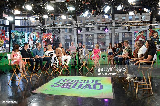 """The cast of """"Suicide Squad"""" takes over GOOD MORNING AMERICA, 8/1/16, airing on the Walt Disney Television via Getty Images Television Network. KAREN..."""