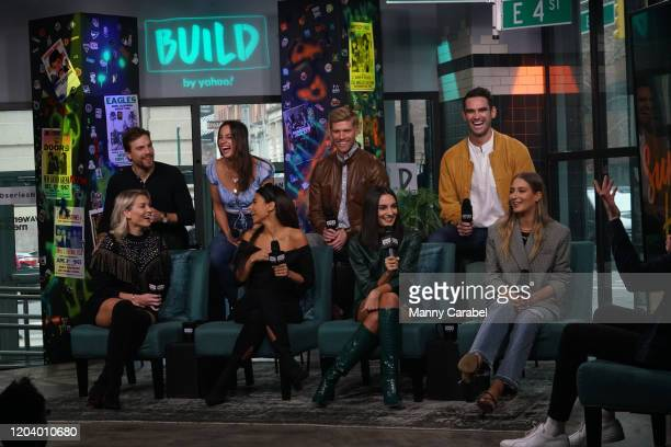 The cast of Summer House attends Build Series to discuss their new season at Build Studio on February 04 2020 in New York City