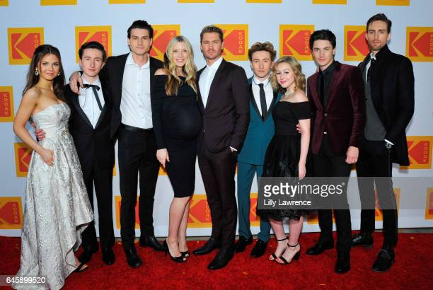 The cast of Sun Records AlexAnn Hopkins Jonah Lees Kevin Fonteyne Sarah Roemer Chad Michael Murray Christian Lees Cait Pool Dustin Ingram and Drake...