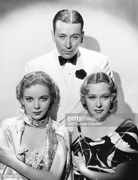 The cast of the 1936 film Yours for the Asking Ida Lupino George Raft and Dolores Costello