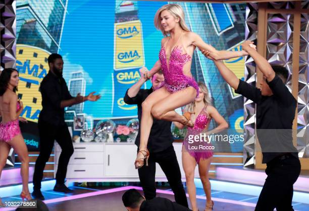 GMA DAY The cast of the 27th season of 'Dancing with the Stars' are guests on 'GMA DAY' Wednesday September 12 2018 'GMA Day' airs MondayFriday on...