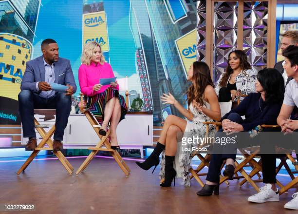 GMA DAY The cast of the 27th season of Dancing with the Stars are guests on GMA DAY Wednesday September 12 2018 GMA Day airs MondayFriday on the Walt...