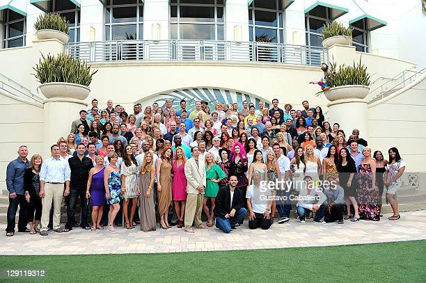 The cast of The Amazing Race arrives at The Amazing Race: 10 Year