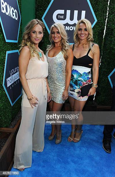 The cast of the Bachelor attends the 2014 Young Hollywood Awards brought to you by Samsung Galaxy at The Wiltern on July 27 2014 in Los Angeles...