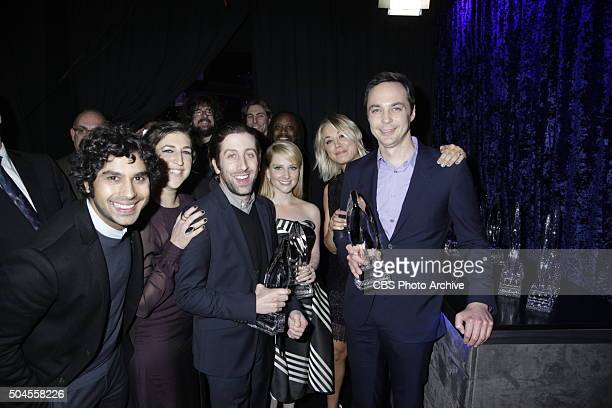 The cast of THE BIG BANG THEORY at the PEOPLE'S CHOICE AWARDS 2016, from the Microsoft Theater on Wednesday, Jan. 6, 2016 on the CBS Television...
