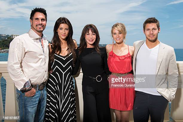 The cast of 'The Bold an The Beautiful' Don Diamont Jacqueline Mac Innes Wood Hunter Tylo Kim Matula and Scott Clifton attend 'The Bold and The...