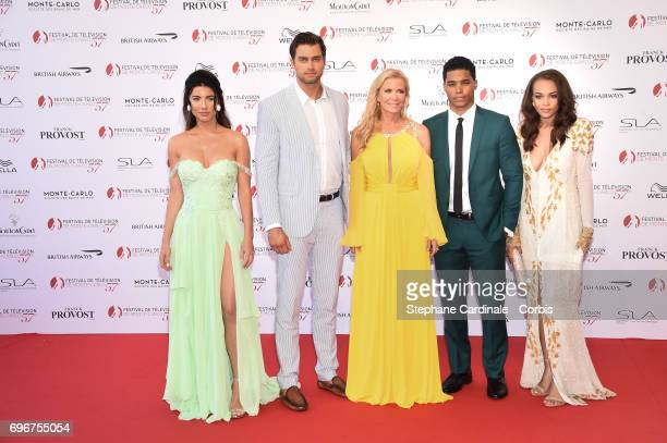 The Cast of ' The Bold and the Beautiful Jacqueline MacInnes Wood Pierson Fode Katherine Kelly Lang Rome Flynn and Reign Edwards attend the 57th...