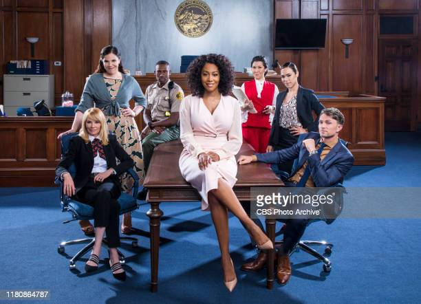 The cast of the CBS series All Rise scheduled to air on the CBS Television Network Pictured Marg Helgenberger as Lisa Benner Lindsay Mendez as Sara...