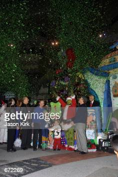 grinch day in los angeles pictures getty images - Grinch Stole Christmas Lights