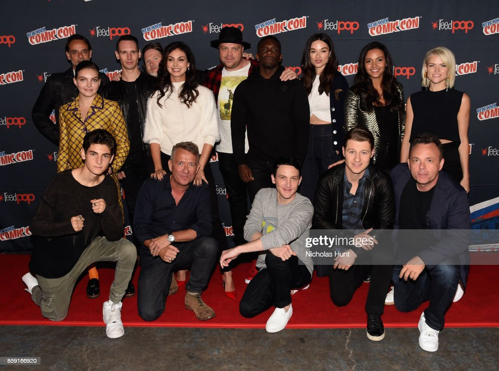 The Cast of the Gotham at the Gotham Panel during the New York Comic Con 2017 on October 8, 2017 in New York City.