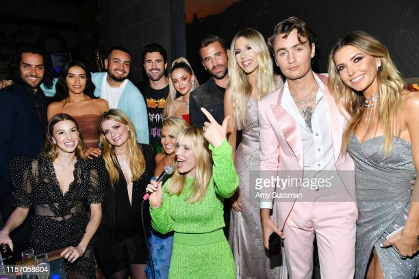 The cast of The Hills New Beginnings Justin Bobby Brescia Jennifer Delgado Frankie Delgado Brody Jenner Kaitlynn Carter Jenner Jason Wahler Ashley...