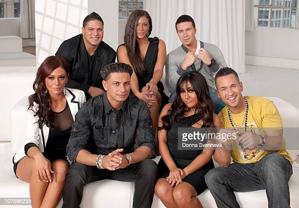 SPECIAL The cast of the Jersey Shore is interviewed by Barbara Walters for her MOST FASCINATING PEOPLE special airing 12/9/2010 on the ABC Television...