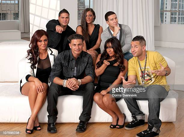 The cast of the Jersey Shore is interviewed by Barbara Walters for her MOST FASCINATING PEOPLE special airing 12/9/2010 on the Walt Disney Television...