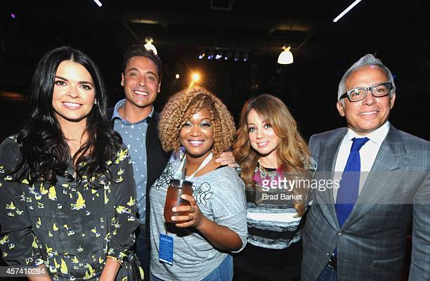 The Cast of The Kitchen Katie Lee Jeff Mauro Sunny Anderson Marcela Valladolid and Geoffrey Zakarian host Thrillist's Barbecue The Blues presented by...