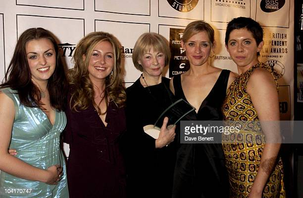The Cast Of The Magdalene Sisters anne Marie Duff Dorothy Duffy Geraldine Mcewan Nora Jane Noone And Eileen Walsh British Independent Film Awards...