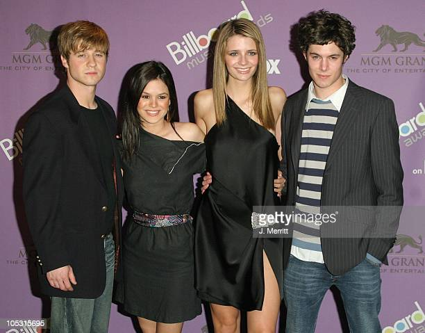 The cast of The OC during The 2003 Billboard Music Awards Press Room at MGM Grand in Las Vegas Nevada United States