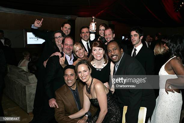 The cast of 'The Office' during Focus Features, NBC Universal Television Group and Universal Pictures 2006 Golden Globes After Party at Beverly...