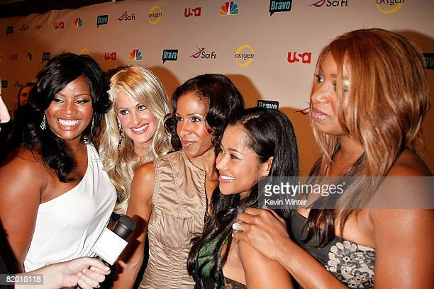 """The cast of """"The Real Housewives of Atlanta"""" arrive at the NBC Universal 2008 Press Tour All-Star Party held at the Beverly Hilton Hotel on July 20,..."""