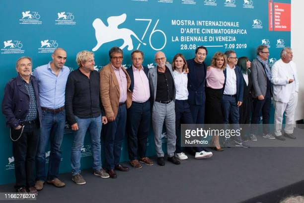The cast of the ''Tutto il mio folle amore'' attend the photocall during the 76th Venice Film Festival at on September 06, 2019 in Venice, Italy.9