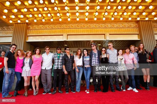 The Cast of 'The Twilight Saga New Moon' attend Summit Entertainment The Twilight Fan Experience Screening during ComicCon 2009 held at Gaslamp...