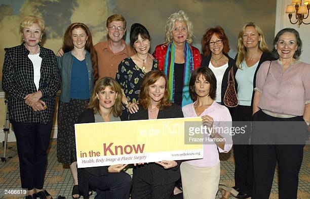 The cast of The Waltons Michael Learned Kami Cotler Jon Walmsley Lisa Harrison Sally Kirkland Mindy Sterling Christie Houser Sybil Goldria and Leigh...