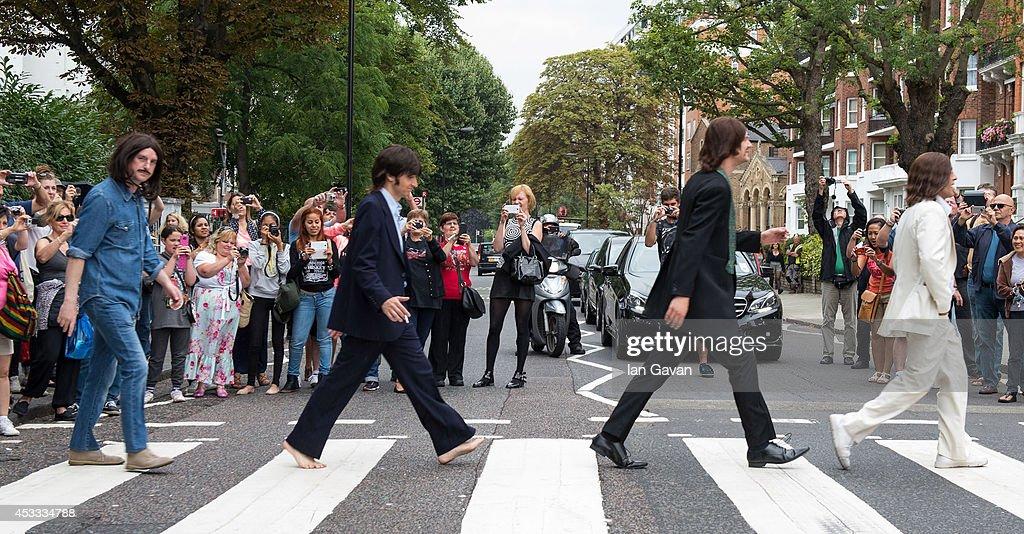 The Beatles 45th Anniversary - Photocall : News Photo