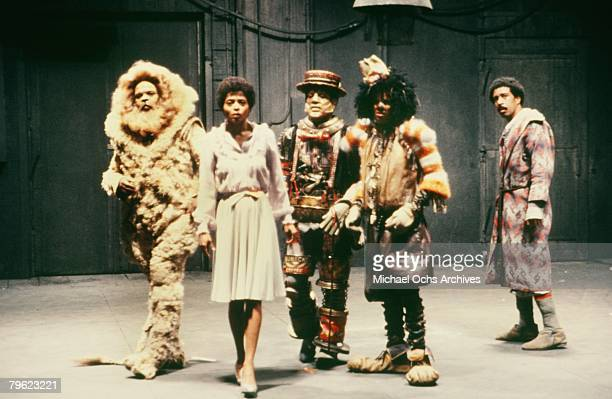 The cast of The Wiz pose for a publicity shot in 1978 in New York New York The movie was directed by Sidney Lumet and produced by Universal Studios