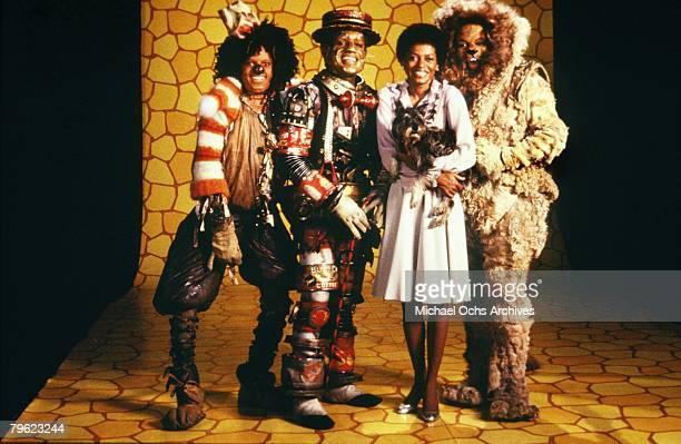 The cast of 'The Wiz' pose for a publicity shot in 1978 in New York New York The movie was directed by Sidney Lumet and produced by Universal Studios