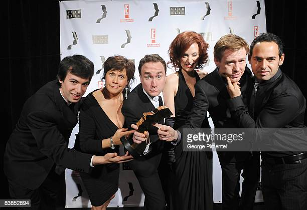 """The Cast of """"This Hour has 22 Minutes"""" attend the 2008 Gemini Awards Gala at the Metro Toronto Convention Centre on November 28, 2008 in Toronto,..."""