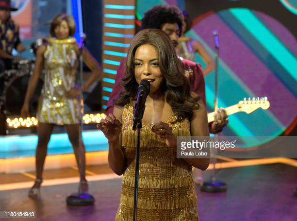 The cast of Tina The Tina Turner Broadway Musical perform live on Good Morning America Wednesday November 6 2019 on ABC GMA19 CAST